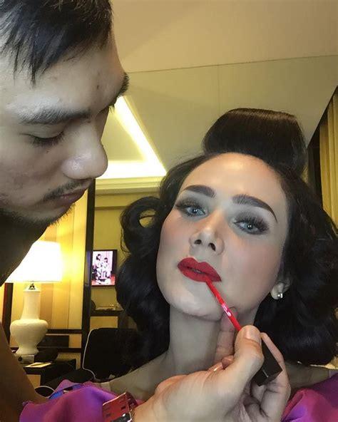 Cantik Dengan Lipstik Merah berita artis haters kembali hujat mulan jameela 2018 harianindo