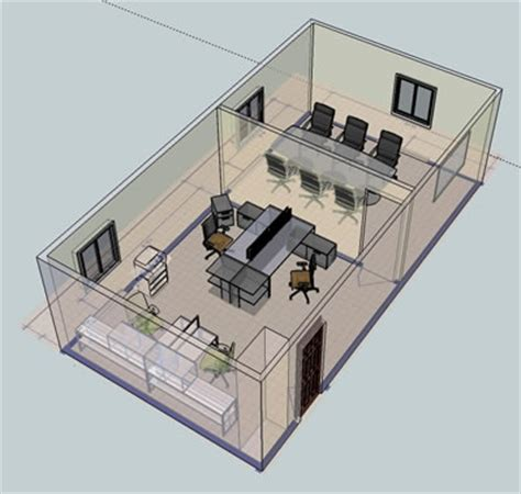 3d layout examples wny office space