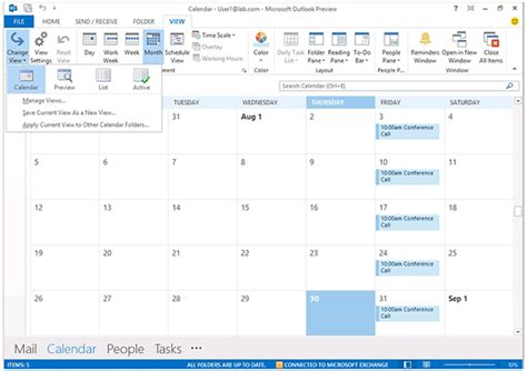 Search Email In Outlook 2013 An Alternate Outlook 2013 Calendar View A Closer Look At Outlook 2013