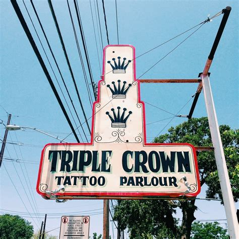 triple crown tattoo guest spot crown michael williams