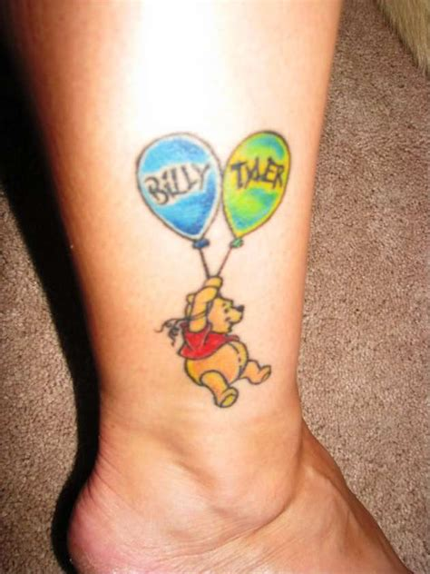 tattoo ideas kids initials foot tattoos design