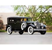1930 Packard Deluxe Eight All Weather Town Car LeBaron