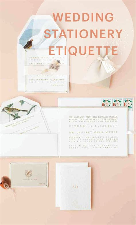 Wedding Invitations Etiquette by 17 Best Ideas About Wedding Stationery Etiquette On