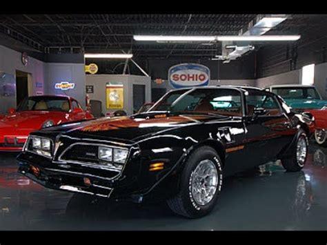 1978 trans am 4 speed w72 black 63 560 seven motorcars