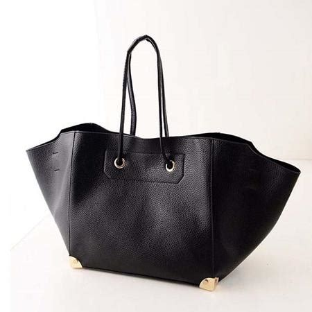 Black Handbag Tas Tangan Hitam tas tangan fashion model batwing black toko wanita