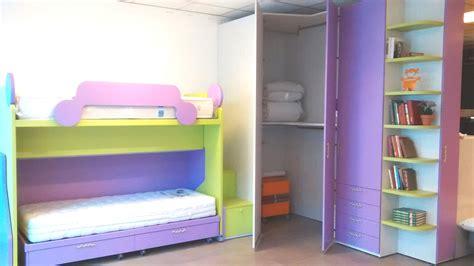 armadio con cabina spogliatoio cameretta in offerta con letto e cabina