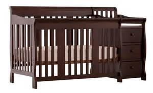 Cribs 4 In 1 Convertible Set Storkcraft Stork Craft Portofino 4 In 1 Fixed Side Convertible Crib Changer Espresso By Oj