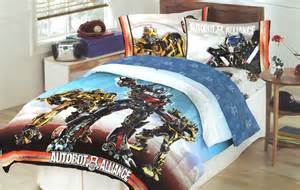 transformers bedroom transformers autobot battle full bed comforter optimus prime bumblebee bedding