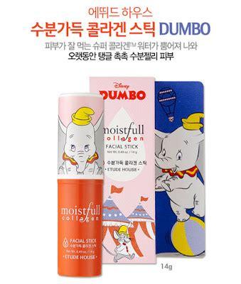 Etude House Disney Dumbo Moistfull Collagen Mask Sheet the rebel sweetheart sneak peek etude house x disney