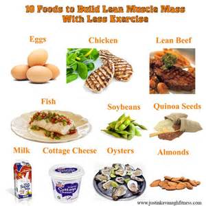 build lean with a high protein diet diet nutrition protein foods