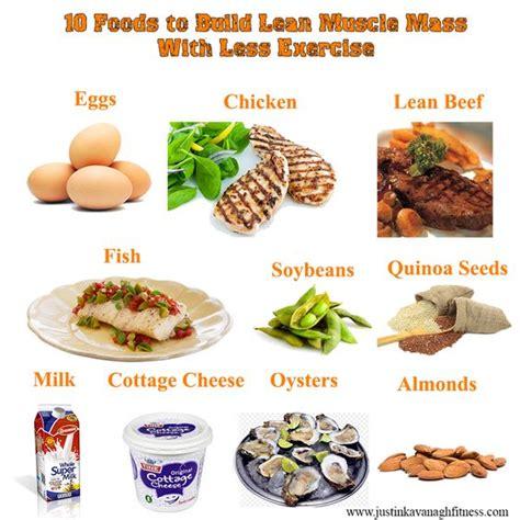 build lean with a high protein diet diet