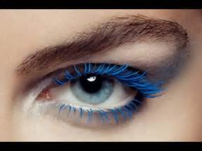color mascara bridal trend colored mascara arabia weddings