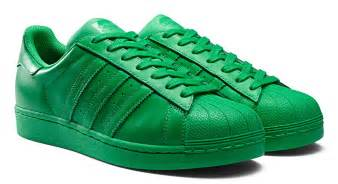 adidas color shoes adidas superstar supercolor shoes green
