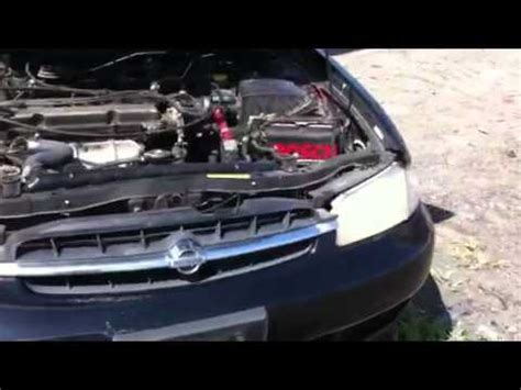 1998 nissan altima engine youtube