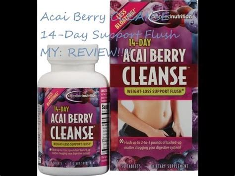 Acai Berry Detox Cleanse Side Effects by Acai Berry Cleanse How To Save Money And Do It Yourself