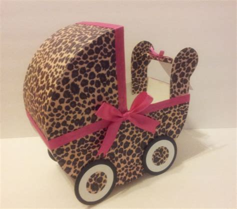 leopard centerpiece ideas leopard pink baby carriage table centerpiece baby