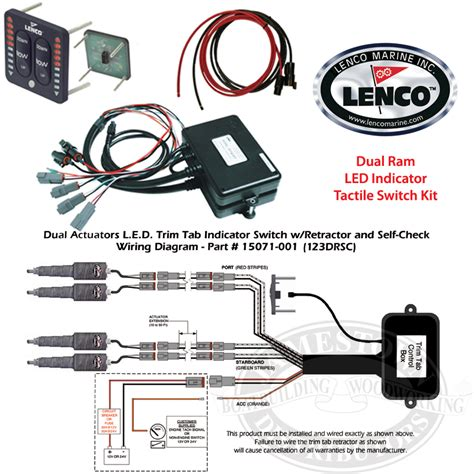 lenco trim tab switch wiring diagram tilt trim switch
