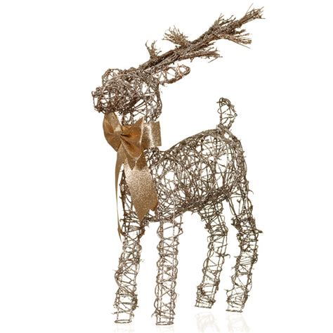 decorative reindeer ornament christmas decorations b m