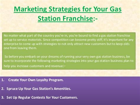 sle business plan gas station gas station business plan and strategies