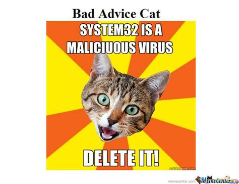 bad advice cat by tacofrog meme center