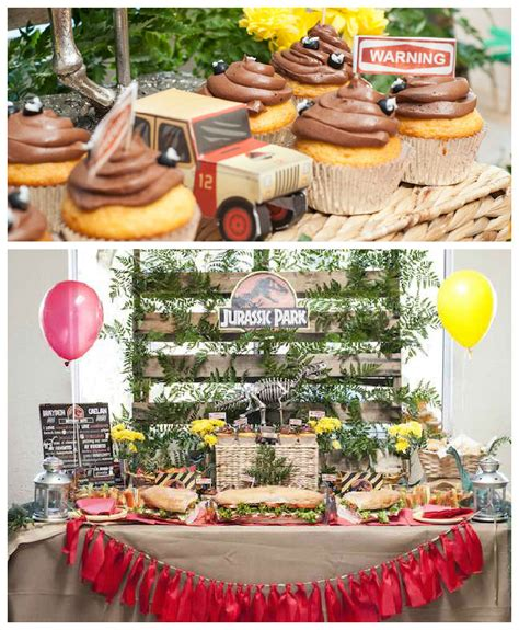 jurassic park themed birthday party kara s party ideas jurassic park birthday party