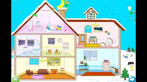 design home games home makeover games fun care makeover house winter doll house decoration