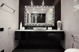 Black White And Silver Bathroom Ideas by Black Bathroom Decor 2017 Grasscloth Wallpaper