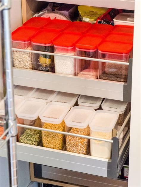 kitchen food storage ideas why you should use square or rectangular food storage