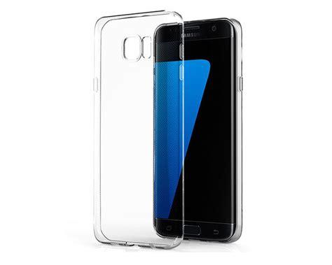 Silikon Transparan Samsung S7 Edge etui transparent silikon guma do samsung galaxy s7 edge