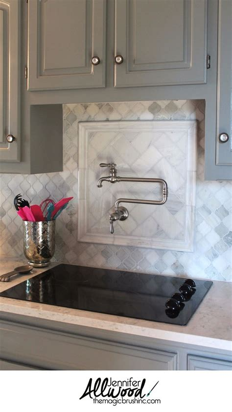 kitchen backsplash decorating ideas feature marble diamond best 25 pot filler faucet ideas on pinterest pot filler