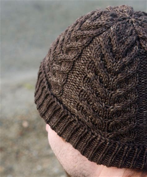 free mens cable knit hat pattern antler hat by ludeman