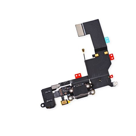 Connector Conector Konektor Charger Iphone 5s iphone 5s lightning dock port charging connector headphone cable black