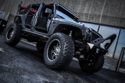 jeep jku lifted lifted jeep jku wrangler 40 quot toyo 8 quot arm king coil