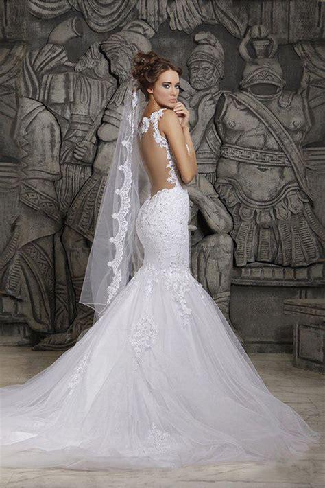 Sleeveless Mermaid Lace Dress mermaid sleeveless lace wedding dresses bridal gowns 3030089