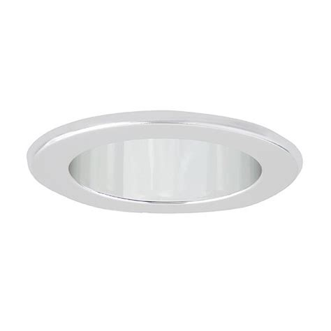 4 quot recessed lighting led retrofit clear chrome reflector