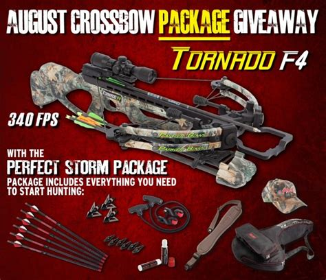 Parker Bow Giveaway - parker hosting a crossbow package giveaway this august outdoorhub