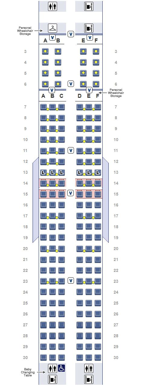 american airlines seating chart 737 american airlines boeing 767 300 seating chart