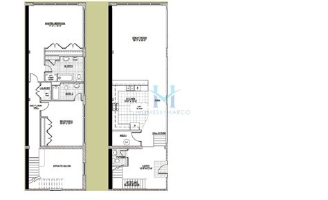 two story loft floor plans two story unit u model in the emerson lofts subdivision in