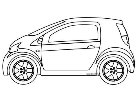 Coloring Pages Of Small Cars | coloring small car