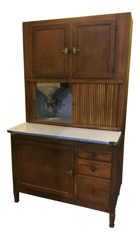 Antique Kitchen Hoosier Cabinet Cupboard   Chairish