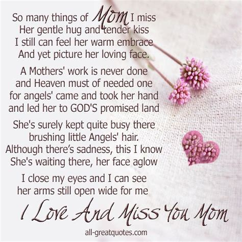 i miss the comfort of my mother in memory birthday poems this entry was posted in