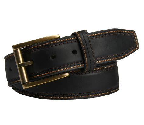 american endurance s padded leather belt and
