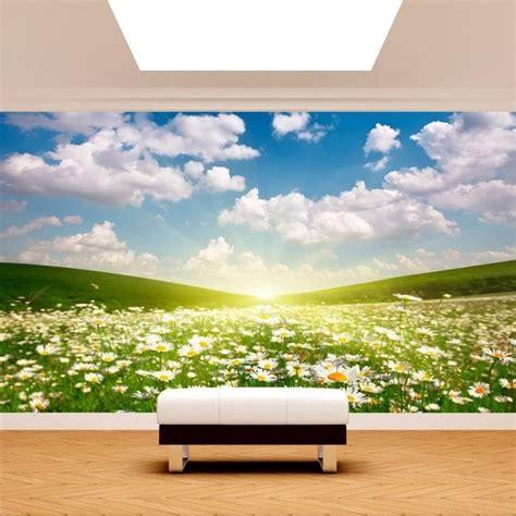 murales fiori foto muro murales fiori margherite bianche
