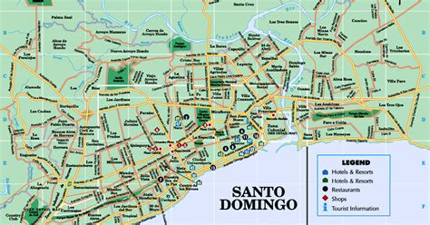 consolato italiano a santo domingo republic s links mapa plano de santo domingo
