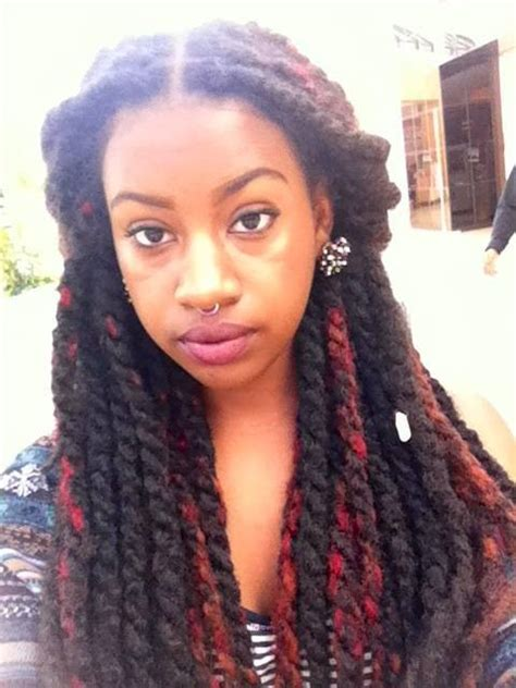 two twisted marley hair style the chronicle of she gorgeous girls with marley twists
