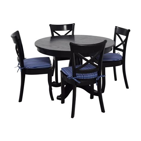 60 Off Crate Barrel Crate Barrel Table And Chairs Crate And Barrel Dining Table And Chairs