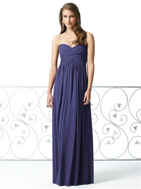 Dress Dessy dessy 2846 bridesmaid dress chiffon empire waistline