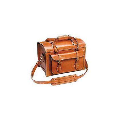 k deluxe leather shooting bag classic style