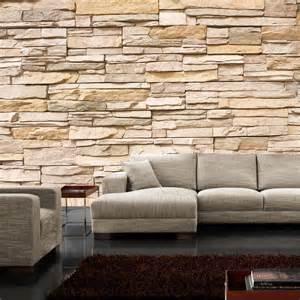 steinwand tapete wohnzimmer steine an wand speyeder net verschiedene ideen f 252 r die