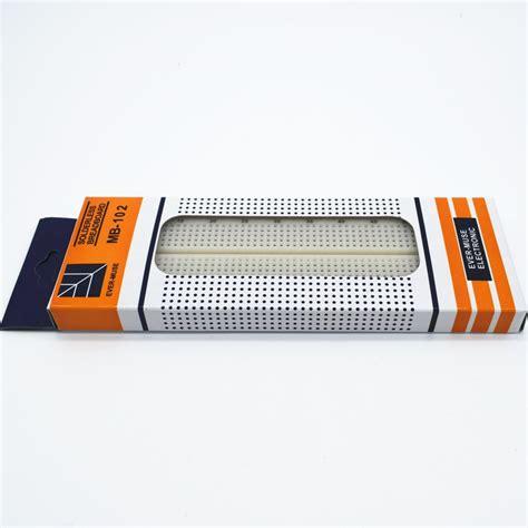Breadboard Mb 102 830 Point breadboard 830 point solderless pcb bread board mb 102 mb102 test develop diy in integrated